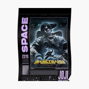 JOJI ™ Sanctuary Space Graphic Poster RB3006 product Offical Joji Merch