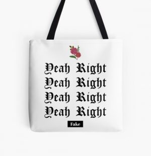 Yeah Right - JOJI All Over Print Tote Bag RB3006 product Offical Joji Merch