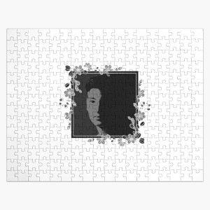 Joji Floral Portrait BW (No text) Jigsaw Puzzle RB3006 product Offical Joji Merch